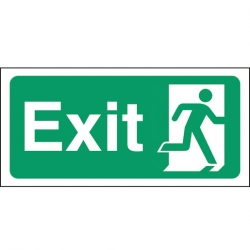 Safety Sign Fire Exit (Sold Singly)