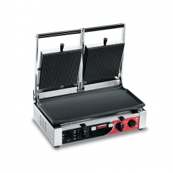 Sirman Double Panini Grill Flat/Ribbed
