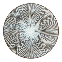 Allium Sea Plate 10.5inch (27cm) (6 pcs)