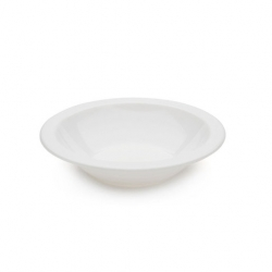 Bowl Narrow Rim White 17cm Antibacterial Poly (Sold Singly)