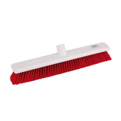 Abbey Hygiene Broom Head Soft 45cm Red (Sold Singly)