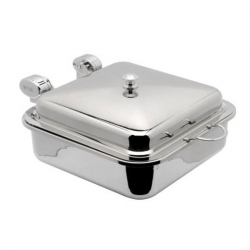 Chafing Dish Stainless Steel Square 40x51x20cm (Sold Singly)