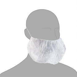 Pal N43110HP Pack of 100 Beard Masks