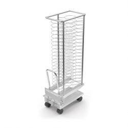 Lainox Plated Meal Trolley With Drip Tray