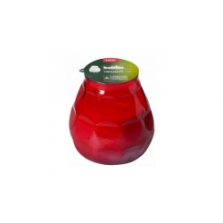 Bolsius Twilight Low Boy Candle Red