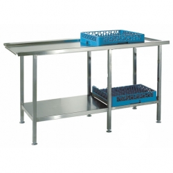 CED Fabrications Dishwash Outlet Tabling 650mm