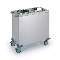 Tournus Equipement Mobile Ambient Plate Lowerator - Twin Stack