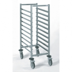 Tournus Equipement Gastronorm Storage Trolley - 10 Tier 1/1GN