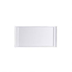 Steelite Rectangle Tray Handled 25 x 12.3cm