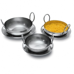 Signature Collection Balti Pan Stainless Steel 13cm