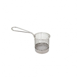 Mini Spaghetti Basket Stainless Steel 8 x 8cm