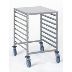 Tournus Equipement Gastronorm Storage Trolley - 8 Tier 2/1GN