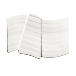 Elements-Earth Plate White 19.1cm