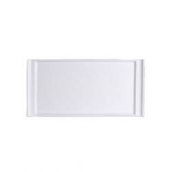 Steelite Rectangle Tray Handled 33 x 16.5cm