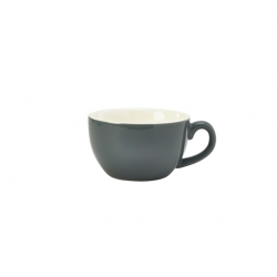 Royal Genware Bowl Shaped Cup17.5cl 6oz Grey