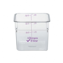 Allergen-Free Camsquare Storage Container 1.9 litre (Sold Singly)