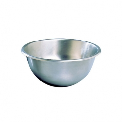 Hemispherical Mixing Bowl 350mm Stainless Steel