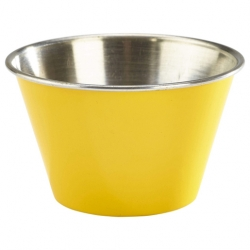 6oz Stainless Steel Ramekin Yellow (Sold Singly)