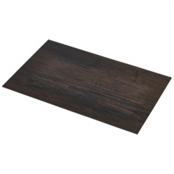 Placemat Dark Wood Effect 45 x 30cm (12 pcs)