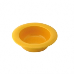 Wade Dignity Bowl Wide Rim Yellow 19.5cm Ceramic