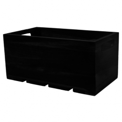 1:3 Gastro Serving & Display Crate, Black. (Sold Singly)