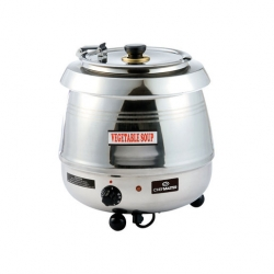 Chefmaster Cauldron Style Soup Kettle S/S 10ltr (Sold Singly)