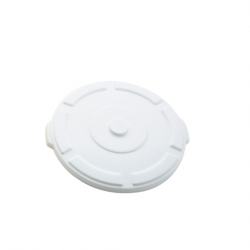 Lid for Thor round bin 121LWhite, FA354WH (Sold Singly)