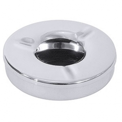 Ashtray Windproof S/S (Sold Singly)