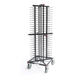 Jackstack Plate Stacking Trolley 104 Plates