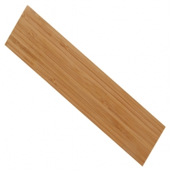12 inch Magnetic Bar, Bamboo, 12 x 2 3/8 x 3/4 inch (Sold Singly)