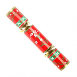 9 inch Holly Christmas Cracker