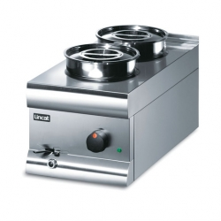 Lincat Silverlink 600 Wet Well Bain Marie 2 Containers
