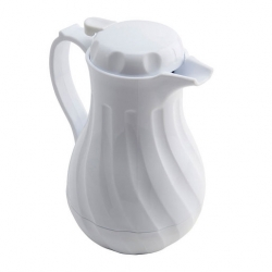 Biscay Insulated Coffee Server 64oz White
