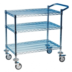 EAIS Trolley 3 Tier Chrome Frame