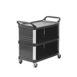 Rubbermaid X-Tra Cart closed 3 sides (Sold Singly)