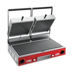 Sirman Ceramic Double Panini Grill Ribbed