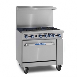 Imperial Restaurant Series Gas Range 6 Burner