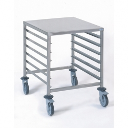 Tournus Equipement Gastronorm Storage Trolley - 6 Tier 2/1GN
