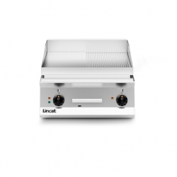 Lincat Opus 800 Half Ribbed E-Griddle