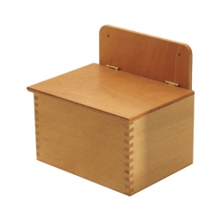 Wooden Salt Box 5.5Lb Capacity