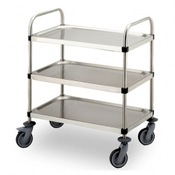Bourgeat S/S Serving Trolley 3 Tier 880 x 560 x 960mm