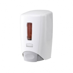 Flex Manual Soap Dispenser White 500ml (Sold Singly)