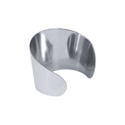 Contacto Napkin Ring Stainless Steel