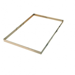 Cake Frame Stainless Steel 56.5 x 36.5 x 4.5cm