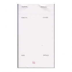 3 Ply Carbonless Restaurant Order Pad