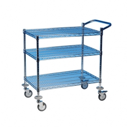 EAIS Trolley 2 Tier Chrome Frame