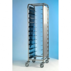 EAIS Tray Clearing Trolley S/S Frame 1 x 12 Tray