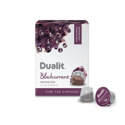 Dualit Fine Tea Capsule - Blackcurrant