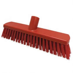 280mm Floor Brush Stiff Red (Sold Singly)