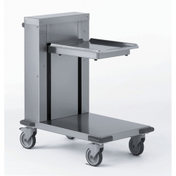 Tournus Equipement Self-Levelling Tray Dispenser Trolley - 540x380mm